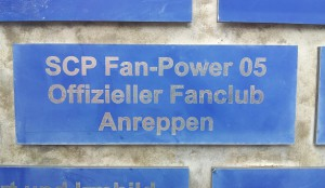 Fanpower Tafel